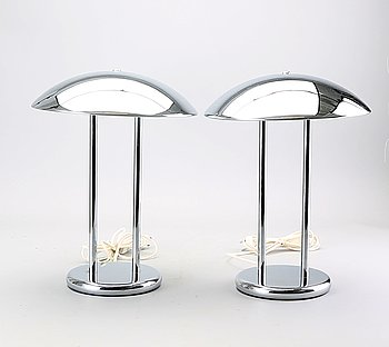 IKEA, Table lamps, 2 pcs,  1980s.