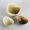 Gunnar nylund, bowl and carl harry stålhane, 4 pcs gn, 1 carl harry.