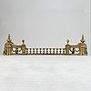 Brasgarnityr, mässing, 3 delad, empirestil, 1900-tal.