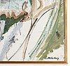 Alf lindberg, oil on canvas, signed.