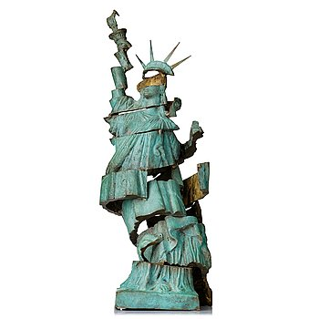 "702. Arman (Armand Pierre Fernandez), ""Pieces of Liberty""."