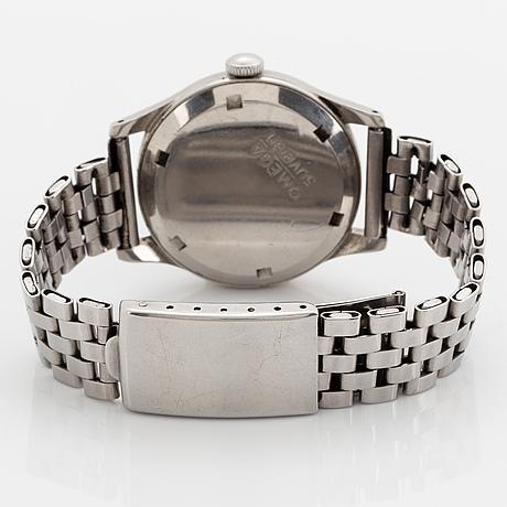 Omega, suverän, armbandsur, 35 mm.
