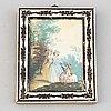 Unknown artist 18th century. miniature. unsigned.