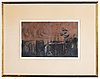 Karin luts, etching, signed and numbered 2/10.