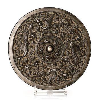 868. A bronze mirror, Ming dynasty (1368-1644).
