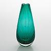 Nanny still, a 'vuokko' filigree glass vase, model 6431, signed nanny still riihimäen lasi oy. design year 1953.