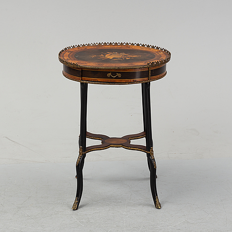 A ca 1900 sewing table.