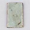 Unknown artist 19th century. miniature. unclear signature.