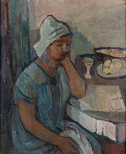 """Tove jansson, """"woman from bretagne""""."""