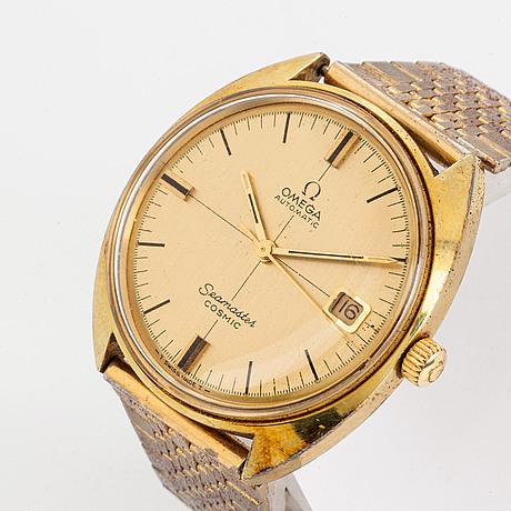 Omega, seamaster cosmic, armbandsur, 35 mm.