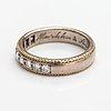 An 18k white gold ring with diamonds ca. 0.54 ct in total. tillander, helsinki 1998.