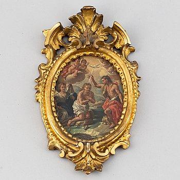 Okänd konstnär 17/1800-tal, Miniatyr. Osignerad.