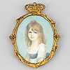 Unknown artist 19th/20th century. miniature. unsigned.