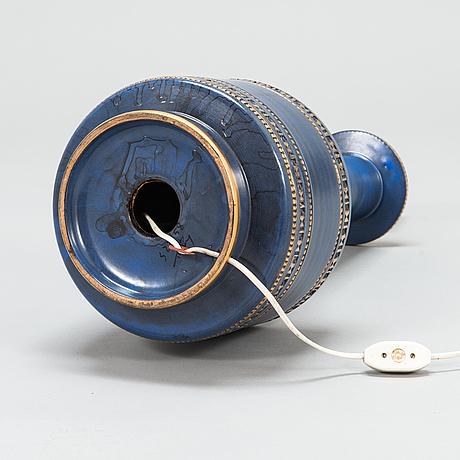 Golvlampa/bordslampa, keramik, bitossi italien 1900-talets mitt.