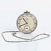 Pocket watch, signed omega, 45 mm.