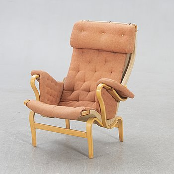 Bruno Mathsson, a Pernilla easy chair later part of the 20th century.