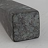 Pål svensson, a stone sculpture and etching, signed and numered 26/30.