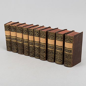 History of King Charles XII, 10 vols., with engraved plates and plans, 1702-19.