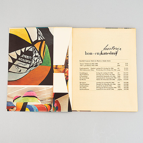 """Niki de saint phalle, fragment av """"hon"""", moderna museet, 1966. sign av jean tinguely, p o ultvedt, niki de saint phalle."""