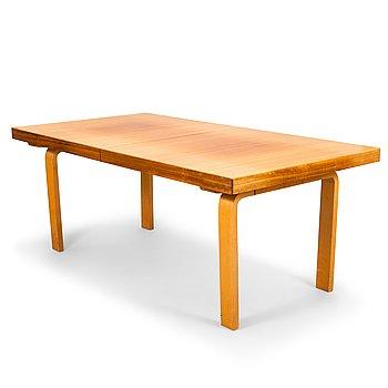 """Alvar Aalto, A mid-20th-century dinner table """"90"""", O.Y. Huonekalu- ja Rakennustyötehdas A.B. Finland."""