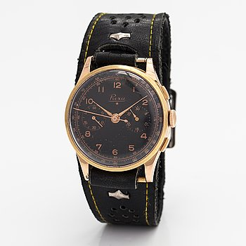 Prexa, wristwatch, chronograph, 38 mm.