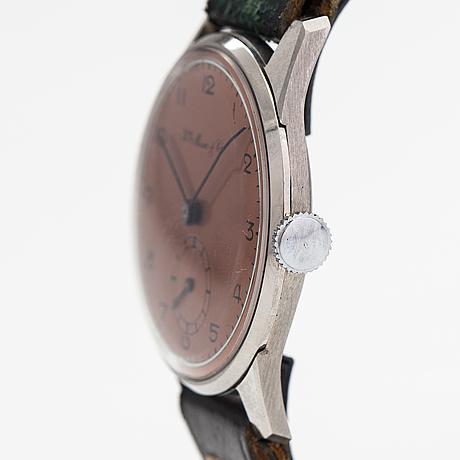 Hy moser & cie, wristwatch, 30 mm.