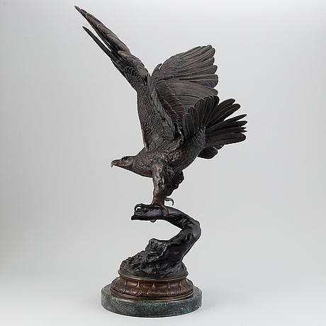 Jules moigniez, efter. skulptur. signerad. brons.