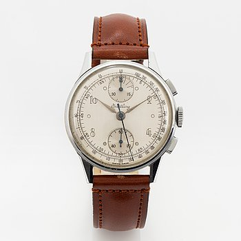 Breitling, armbandsur, kronograf, 35,5 mm.