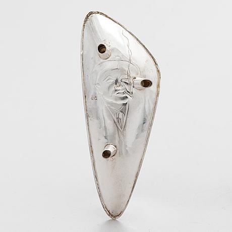 Unto erälampi, malja, hopeaa, riihimäki 1961.