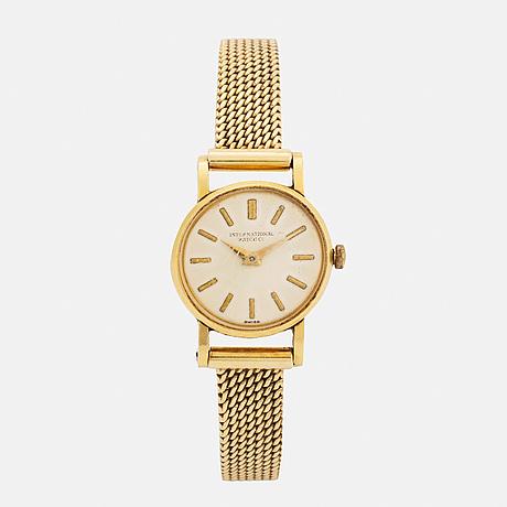 International watch co, wristwatch, 20 mm.