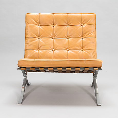 Ludwig mies van der rohe, a 'barcelona' chair for knoll.