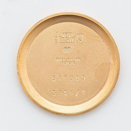 Patek philippe, golden ellipse, wristwatch, 27 x 32 mm.