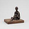 Sterett-gittings kelsey, a bronze  sculpture, 1970s.