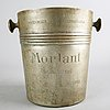 An early 20th century french champagne cooler.