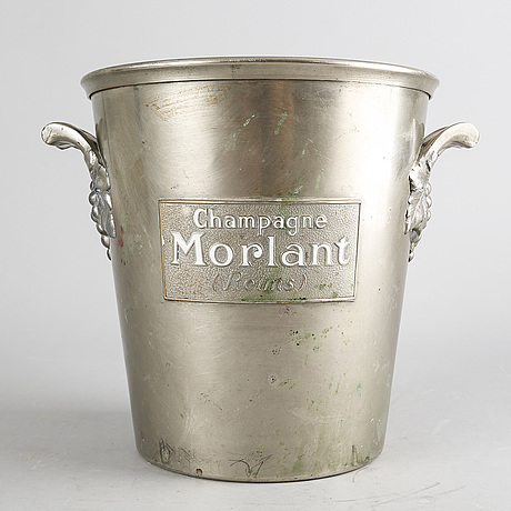An firts half 20th century morlant champange cooler, reims, france.