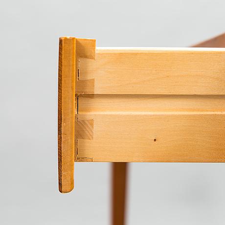 Severin hansen, kirjoituspöytä, malli 36, haslev møbelfabrik, tanska 1900-luvun puoliväli.