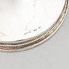 Ljusstakar, ett par, silver, kg markströms guldsmeds ab, uppsala, 1964.