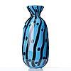 """Anne nilsson, a """"graal"""" glass vase """"inka i"""", orrefors, sweden 1990, ed. 20/30."""