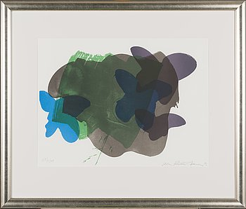 Ulla Rantanen, litograph, signed and dated -92, numbered 189/500..