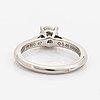 Cartier 0,46 ct brilliant-cut diamond ring.