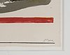 Henry moore, lithograph in color, signed and numbered 35/250.