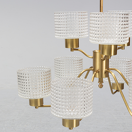 A 1960's-70's ceiling light.