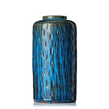 "78. Wilhelm Kåge, a ""Farsta"" stoneware vase, Gustavsberg studio, Sweden 1957."