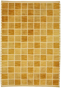 """235. Barbro Nilsson, a carpet, """"Gyllenrutan"""", knotted pile in relief, ca 381,5 x 259,5-269 cm, signed AB MMF BN."""