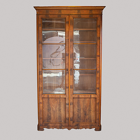An end of the 19th century book cabinet.