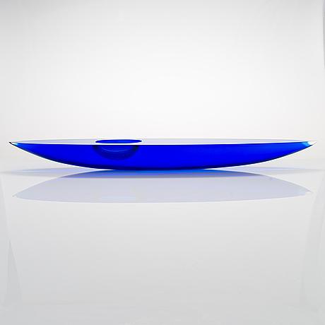 Timo sarpaneva, a posthumous 'kayak' sculpture signed pino signoretto 2009 (2).