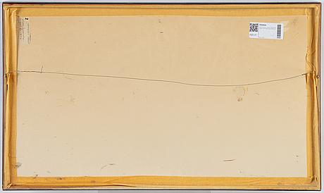 Adachi ginko, triptyk, färgträsnitt. japan, sent 1800/tidigt 1900-tal.