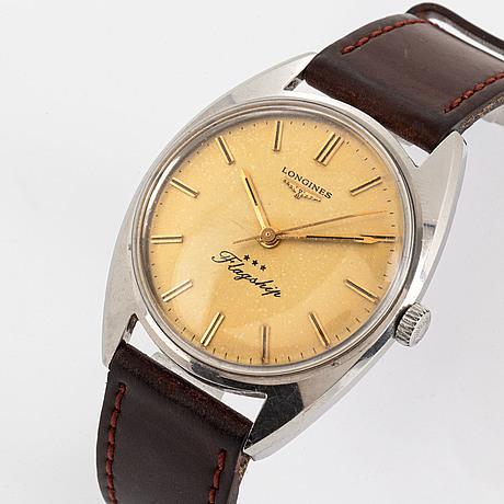 Longines, flagship, wristwatch, 35 mm.