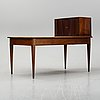 A late gustavian style writing desk, late 19th century.