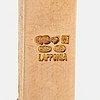 "Björn weckström, kaulakoru ""faro"", 14k kultaa, sitriini. lapponia 1983."